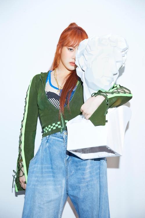 朴智敏(韩联社/JYP娱乐供图)