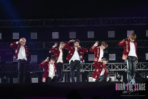 BTS纪录片剧照(Big Hit娱乐供图)