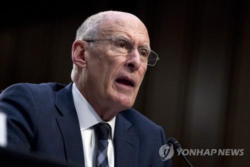 文在寅接见美国情报部门首长科茨
