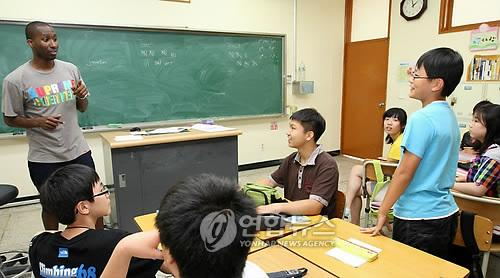 Yonhap Feature) English language education in Korea, fad or the ...