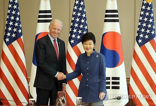 Park agrees with Biden to work together over regional air zone row