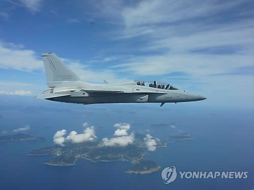 FA-50 light attacker built by Korea Aerospace Industries (Yonhap file photo)