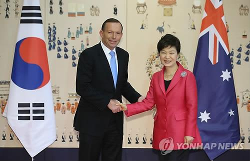 2nd Ld S Korea Australia Sign Fta Agree To Bolster Security