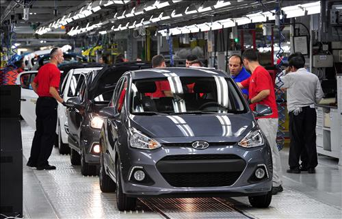 car production at hyundai motor 39 s turkey plant tops 1 mln. Black Bedroom Furniture Sets. Home Design Ideas