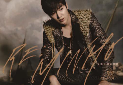 South Korean actor and singer Lee Min-ho (Yonhap)