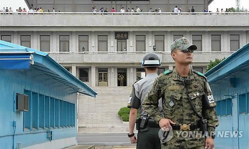The inter-Korean truce village of Panmunjom. (Yonhap file photo)