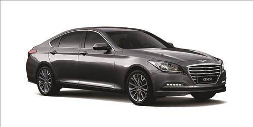 Hyundai Motor Co.'s Genesis premium sedan. (Yonhap file photo)