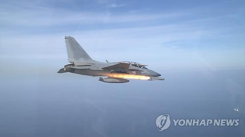 South Korea's indigenous light attack airplane, the FA-50(Yonhap file photo)