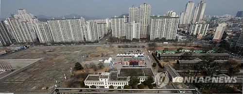 The site of the Daegu-Samsung Creative Economy Zone in the southeastern city of Daegu. (Yonhap file photo)