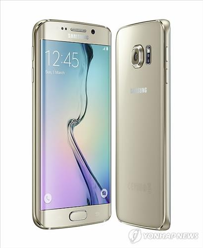 An image of Galaxy S6 Edge. (Yonhap file photo)