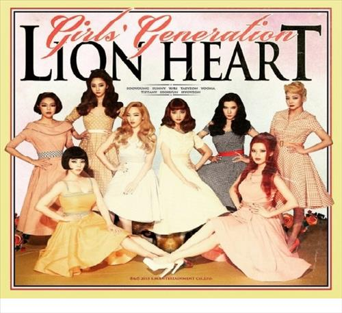 "The CD jacket of ""Lion Heart,"" the fifth album by the South Korean K-pop group Girls' Generation (Yonhap)"