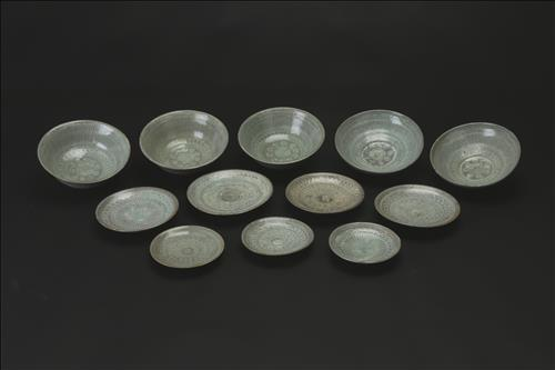 The above photo shows ceramics unearthed from Mado No. 4 (Courtesy of the Cultural Heritage Administration) (Yonhap)