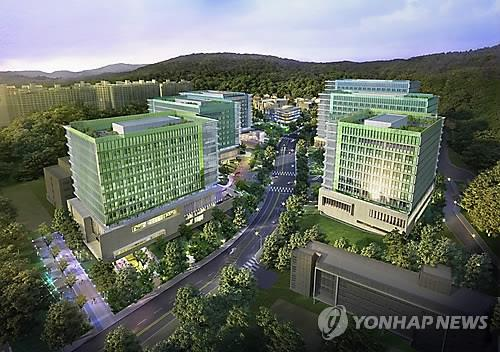 A rendering of the Samsung Seoul R&D Campus (Yonhap)