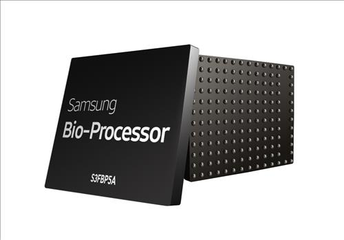 Samsung Electronics Co.'s bioprocessor, S3FBP5A (Photo courtesy of Samsung Electronics)