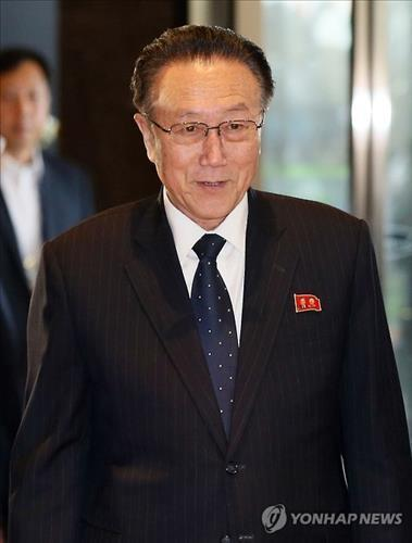 Kim Yang-gon, North Korea's party secretary handling inter-Korean affairs, is reported to have been killed in a car accident on Dec. 29, 2015. (Yonhap file photo)