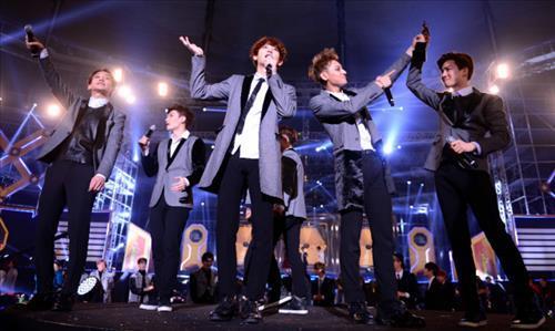 Boy band EXO (Yonhap)