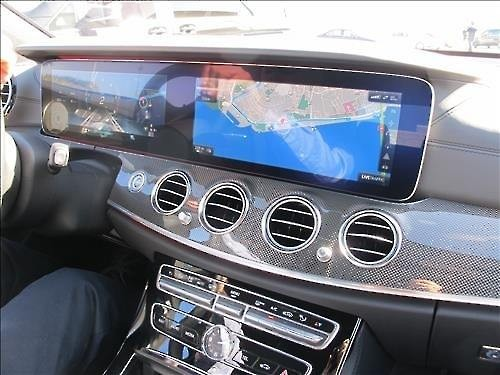 LG Display Co.'s P-OLED product for automobiles. (Yonhap)