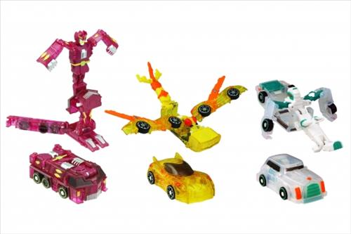 This file photo, provided by Sonokong Co., shows Turning Mecard, a transforming toy brand. (Yonhap)