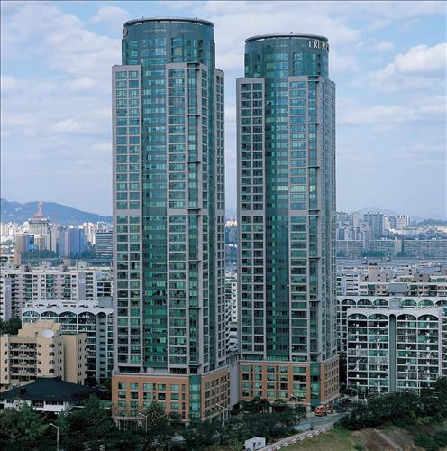 Trump World in Yeouido, western Seoul (Photo provided by Daewoo E&C)