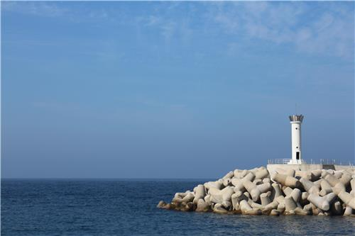 A lighthouse on Ulleung Island, South Korea. (Yonhap)