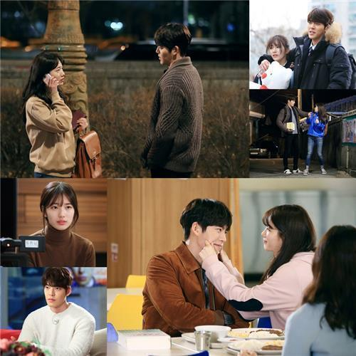"""Stills from """"Uncontrollably Fond"""" (Yonhap)"""