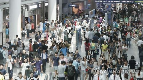 Passenger numbers at Incheon airport hit record high in summer season