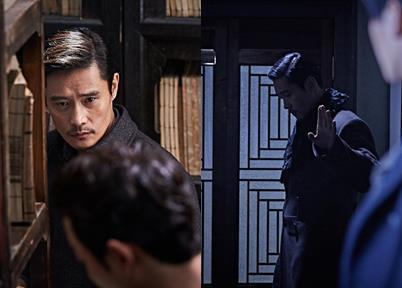 "Actor Lee Byung-hun appears in this still from South Korean film ""The Age of Shadows,"" provided by Warner Brothers Korea. The film is set to open in South Korean theaters on Sept. 7. (Yonhap)"