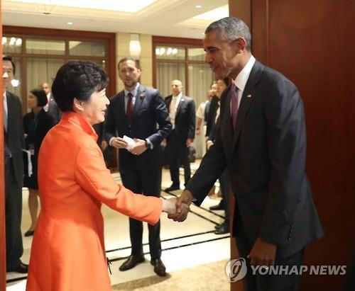 Narendra Modi meets Shinzo Abe in Laos