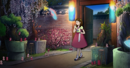 "A still from the Korean animation film ""Lost in the Moonlight"" (Yonhap)"