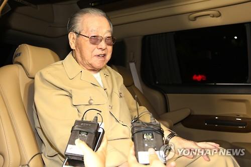 Former Prime Minister Kim Jong-pil (Yonhap)