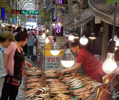 Mercado Sokcho Oferece Experiência Da Coreia Tradicional