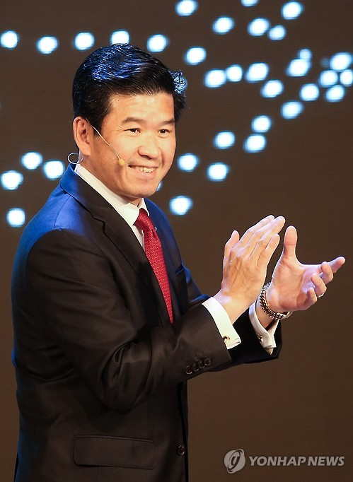James Kim, CEO of GM Korea (Photo courtesy of GM Korea)