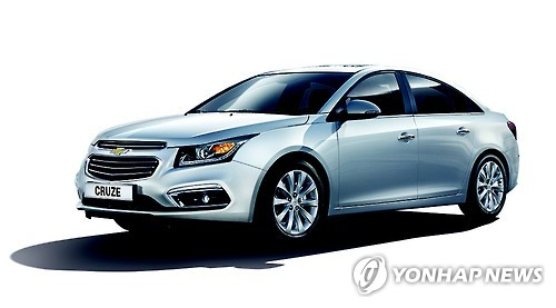 The Chevrolet Cruze (Photo courtesy of GM Korea)