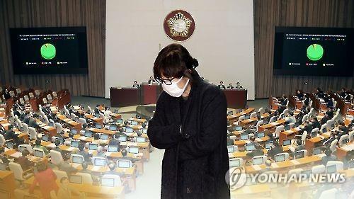 Choi Soon-sil, a confidante of Park Geun-hye (Yonhap)