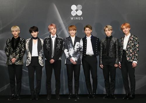 South Korean boy band Bangtan Boys (BTS) (Yonhap)
