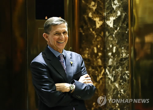 Incoming U.S. National Security Advisor Mike Flynn