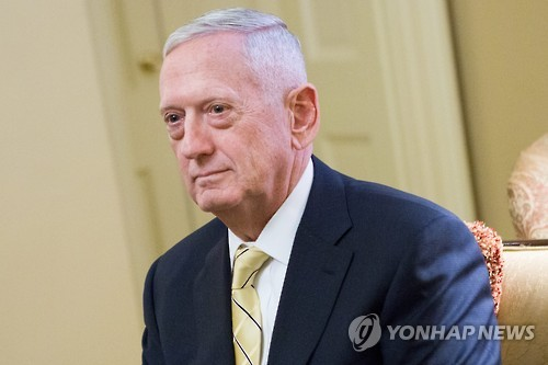 James Mattis, nominee for secretary of defense