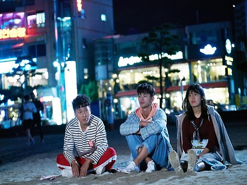 "This photo provided by the Busan Tourism Organization shows a scene from the MBC TV series ""Shopping King Louie."" (Yonhap)"