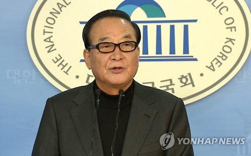 Rep. Suh Chung-won of the ruling Saenuri Party (Yonhap)