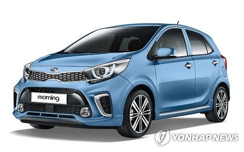 Kia motors launches all new morning minicar in s korea for Kia motors south korea