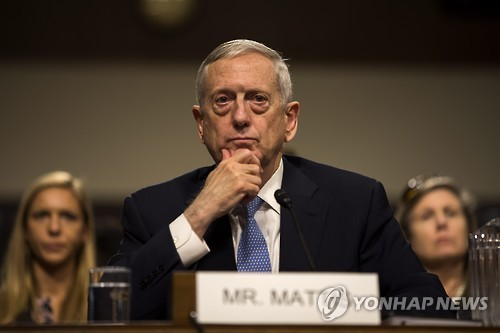 U.S. defence chief Mattis to visit Japan and South Korea