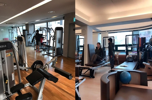 Users can reserve spots in various fitness classes through applications provided by online-to-offline (O2O) startups. (Yonhap)