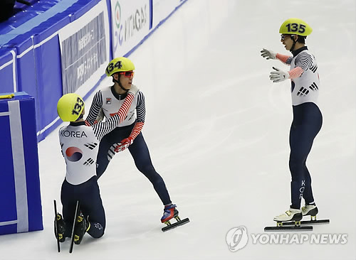 (Winter Asiad) Short tracker shrugs off Asian Games drought, keeps focus on Olympics