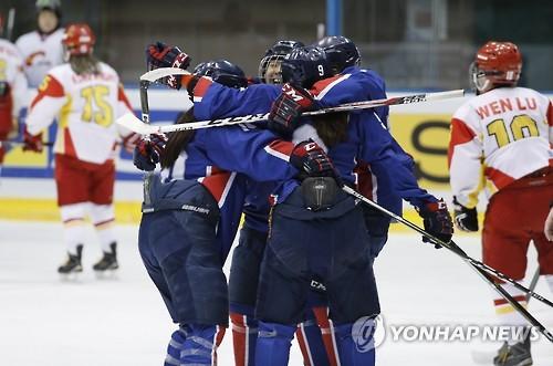 (2nd LD) (Winter Asiad) S. Korea beats China in women's hockey shootout