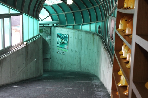 An entrance to the 3rd Tunnel. (Yonhap)