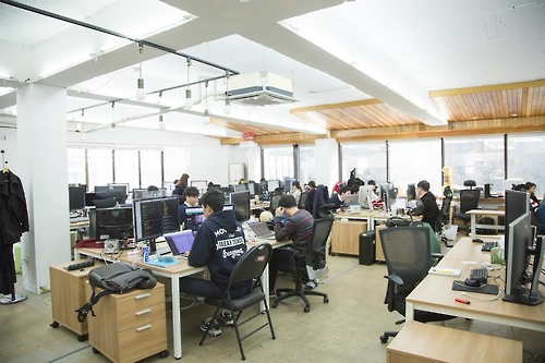 This photo provided by Frograms shows the company's office in southern Seoul. (Yonhap)