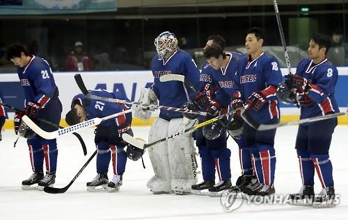 (LEAD) (Winter Asiad) S. Korea beats China to close out men's hockey tournament