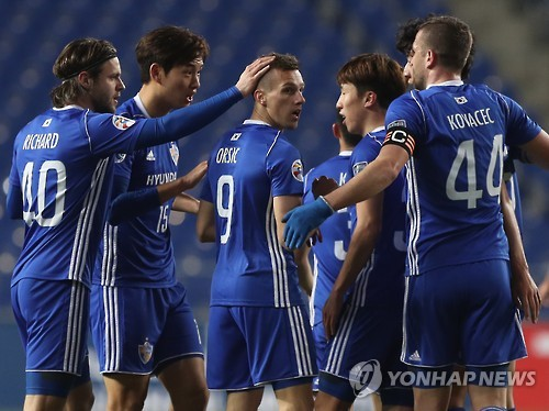 Ulsan beat Brisbane 6-0 to collect 1st win at AFC Champions League