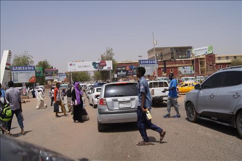 Alsuq Alarabi (Arab Market) in Khartoum (Yonhap)