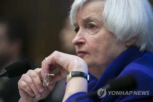 Fed Chair Janet Yellen in a file photo. (EPA-Yonhap)